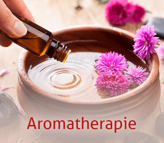 Anwendung von Aromatherapien